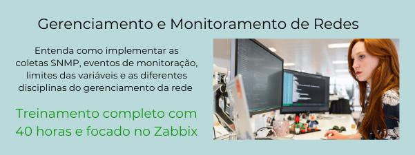 Monitoramento e gerenciamento de redes